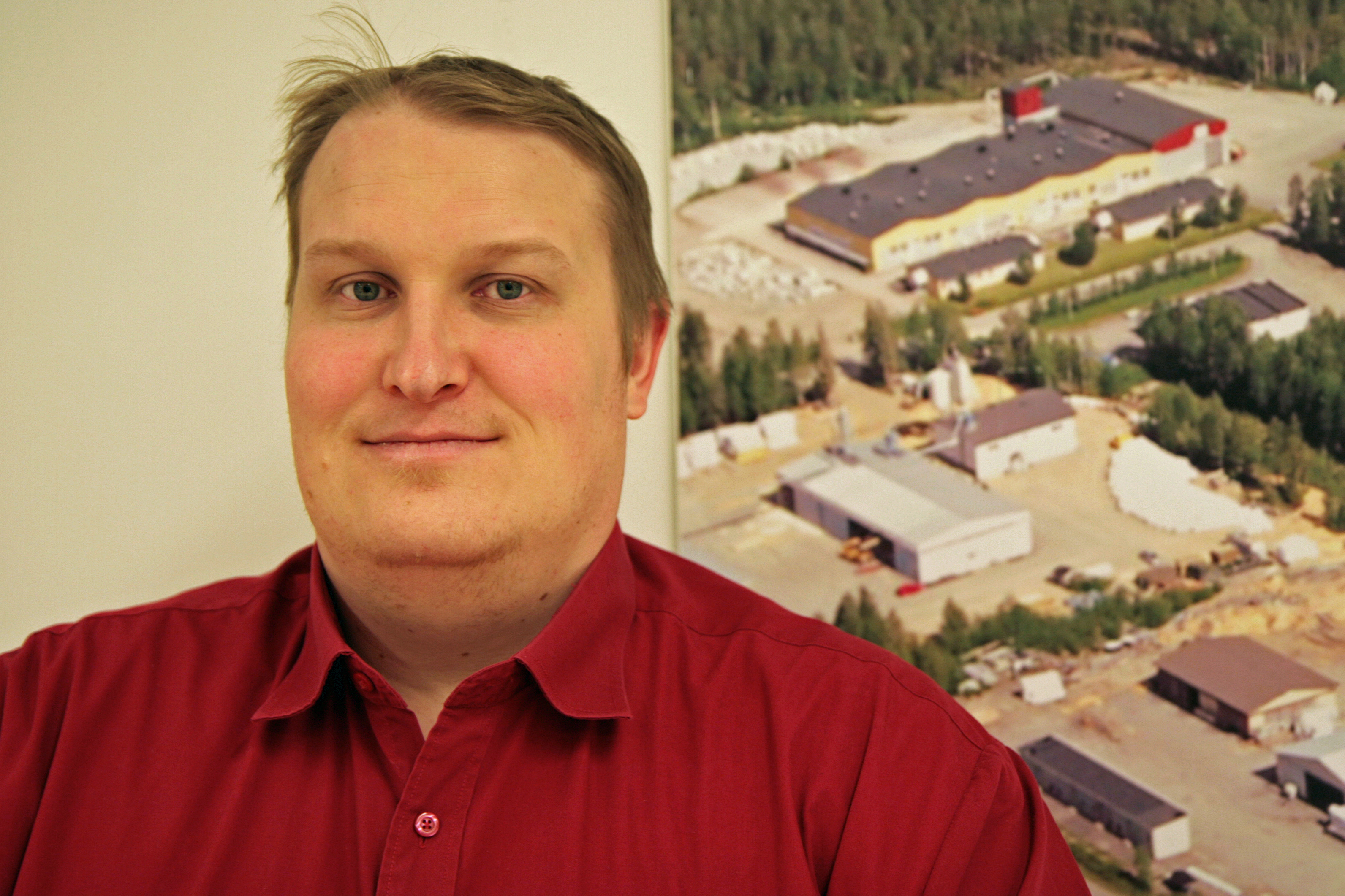 Tapani Kiiskinen, Development Director of the town of Kuhmo. Photo: Anna Kauppi