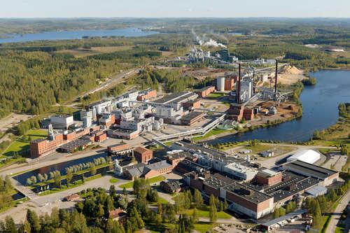 Metsä Fibre Äänekoski, tehdasalue. Kuva: Metsä Group