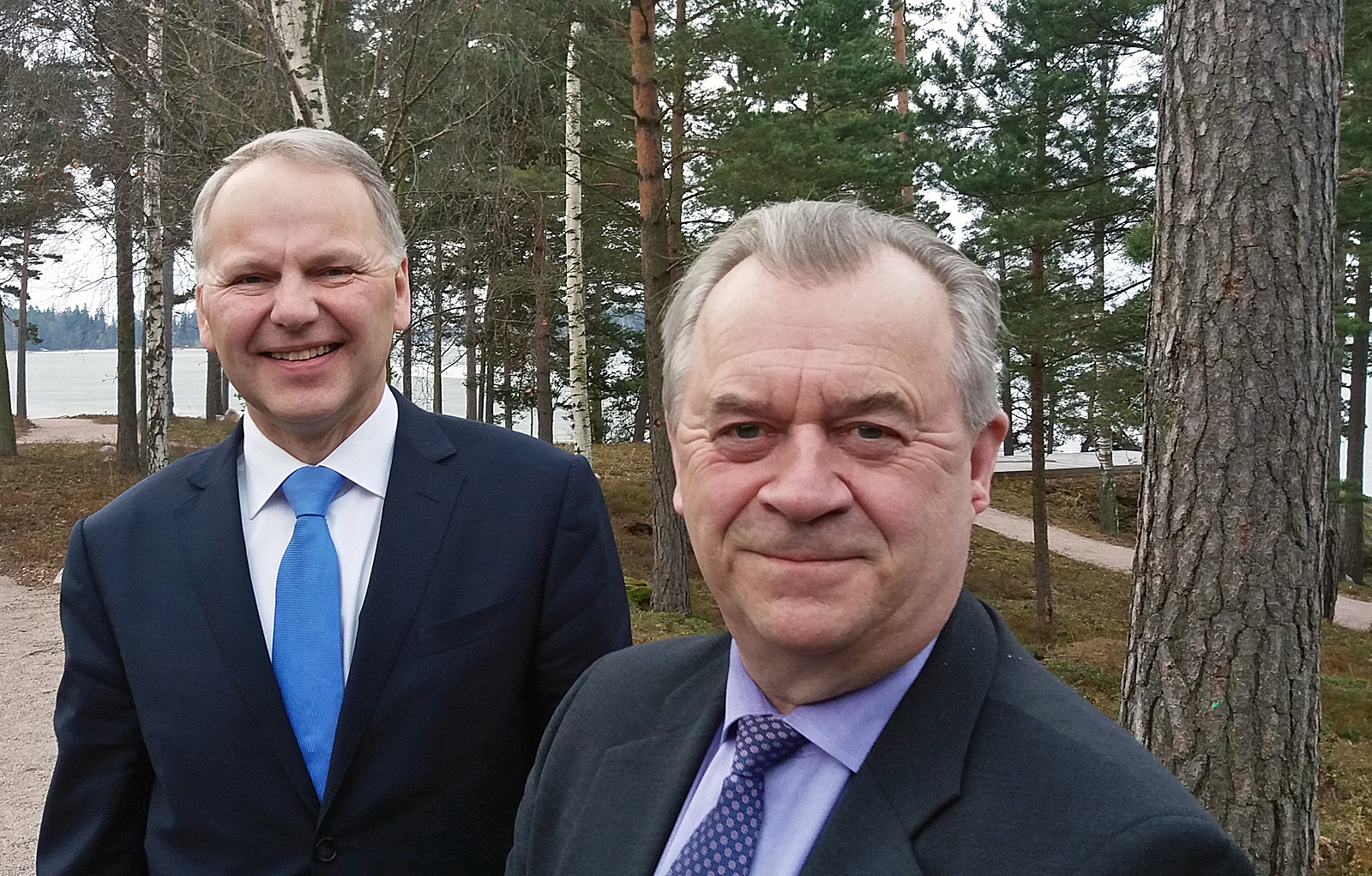 In November, Swedish Minister for Rural Affairs, Sven-Erik Bucht, and his Finnish counterpart, Jari Leppä, will open the Forest Academy for Decision-Makers, which will acquaint participants with the sustainable forestry of the Nordic countries. Photo: Hannes Mäntyranta