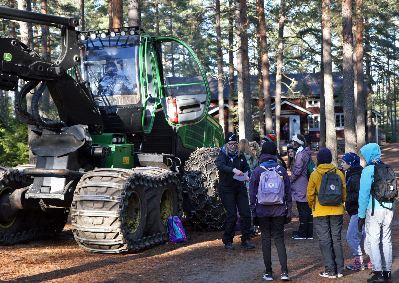 The activity trail was part of the Explo, an event organized in October in and around Salo for the Explorers, who are 15 to 17 years of age. Photo: Anna Kauppi