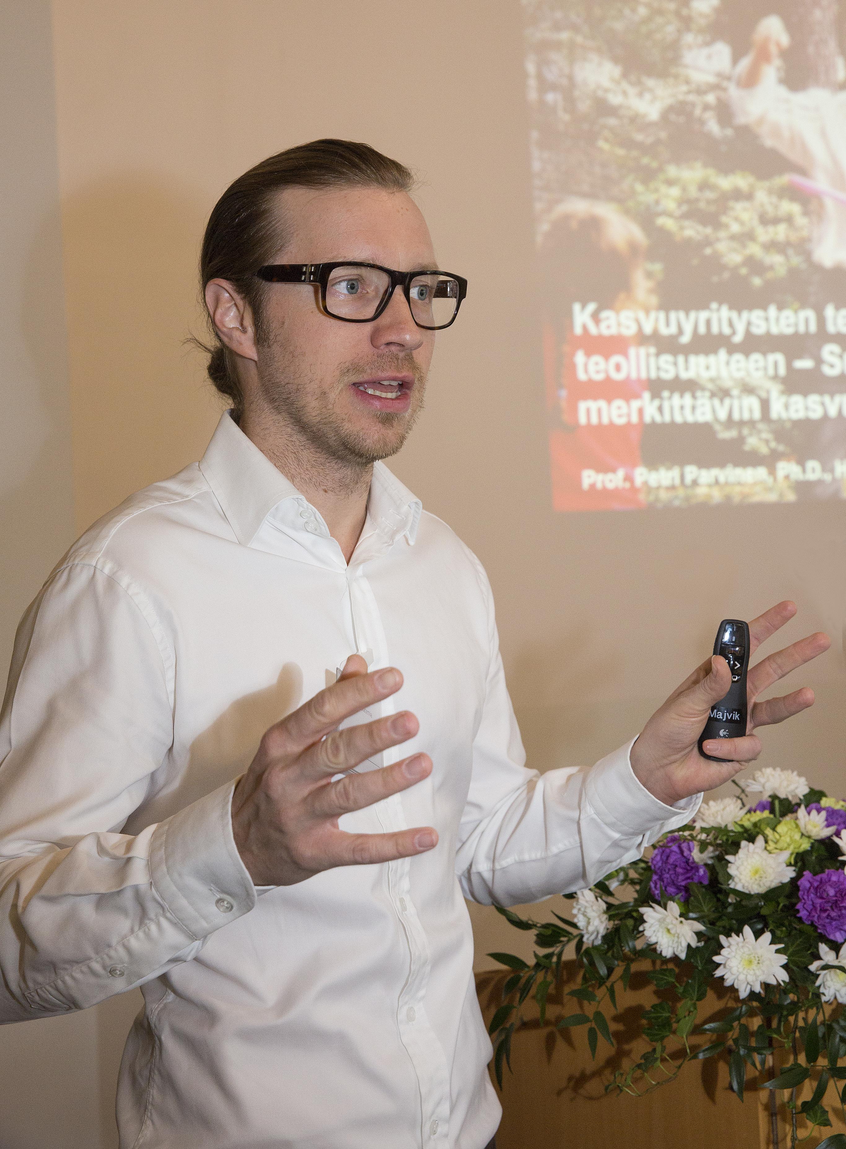 Petri Parvinen. Kuva: Erkki Oksanen