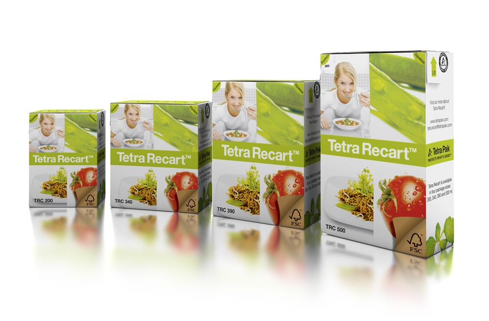 Tetra Recart -kartonkipakkaus. Kuva: Tetra Pak