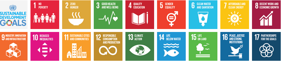 Sustainable Developmen Goals by UN Agenda 2030.