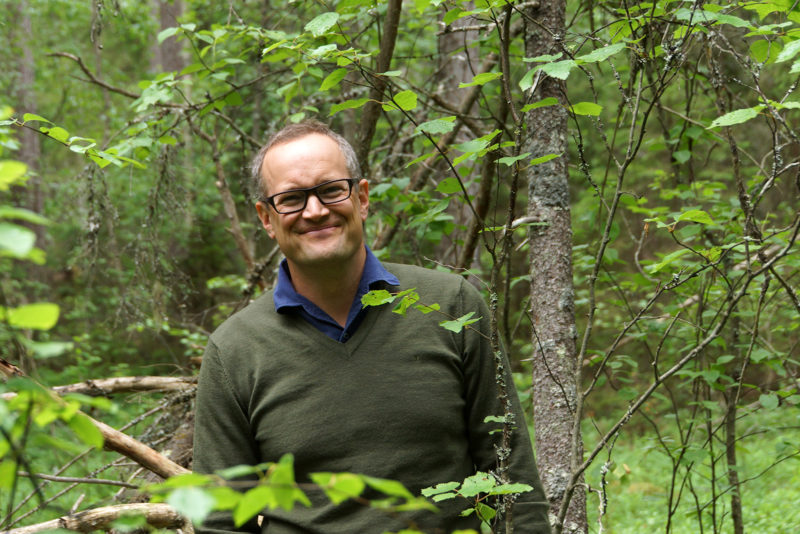 """I don't think that the forestry of the future will be the same as today,"" says Fredrik von Limburg Stirum, owner of Koski Manor. Photo: Maria Munck-Pihlgren"