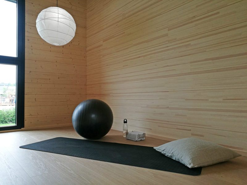 Wooden houses have healthy indoor air