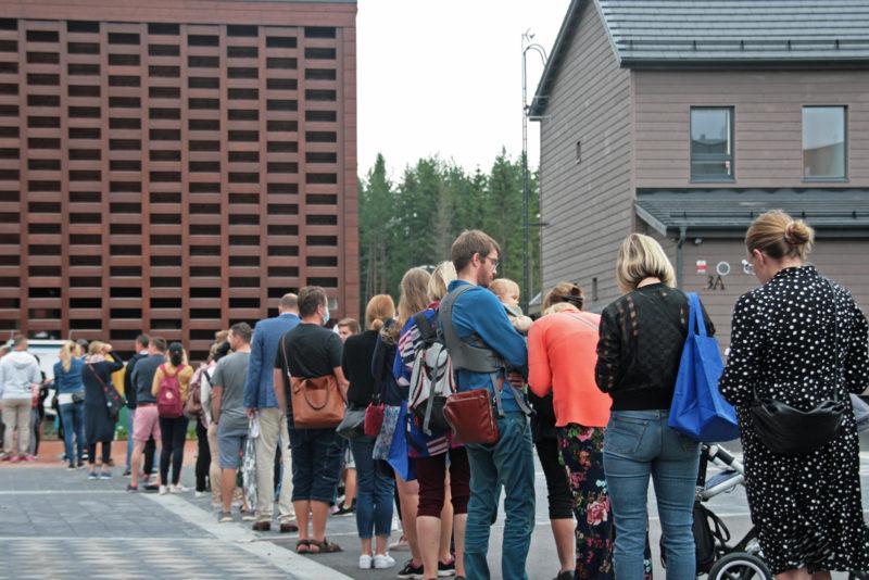 The Housing Fair in Tuusula, Finland