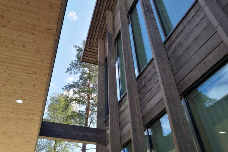 The Mansikkala school in Eastern Finland