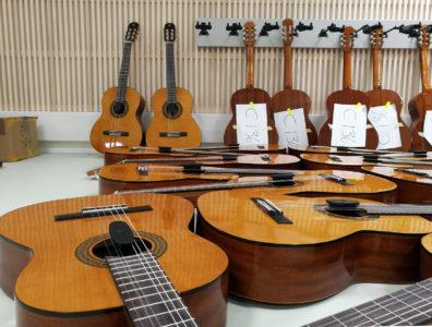 Imatran puukoulun musiikkiluokka