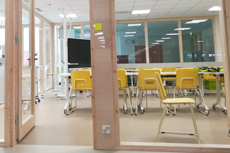 Luokkahuoneissa on avoimuutta