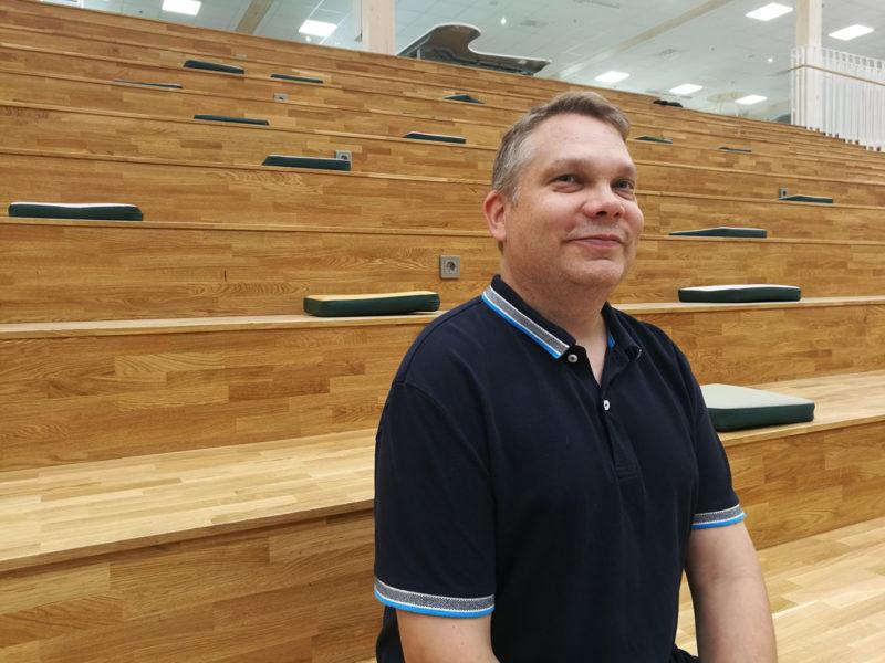 Principal Lasse Tiilikka