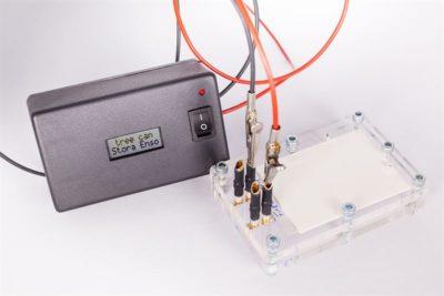 Lithium-ion battery. Photo: Stora Enso