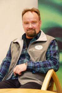 Jyrki Tolonen. Photo: Pekka Koski, Metsähallitus