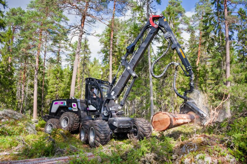 Logset 8H GTE Hybrid. Photo: Logset