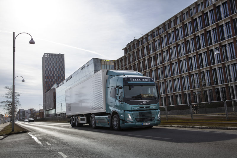 Volvo FM Electric. Photo: Volvo Trucks