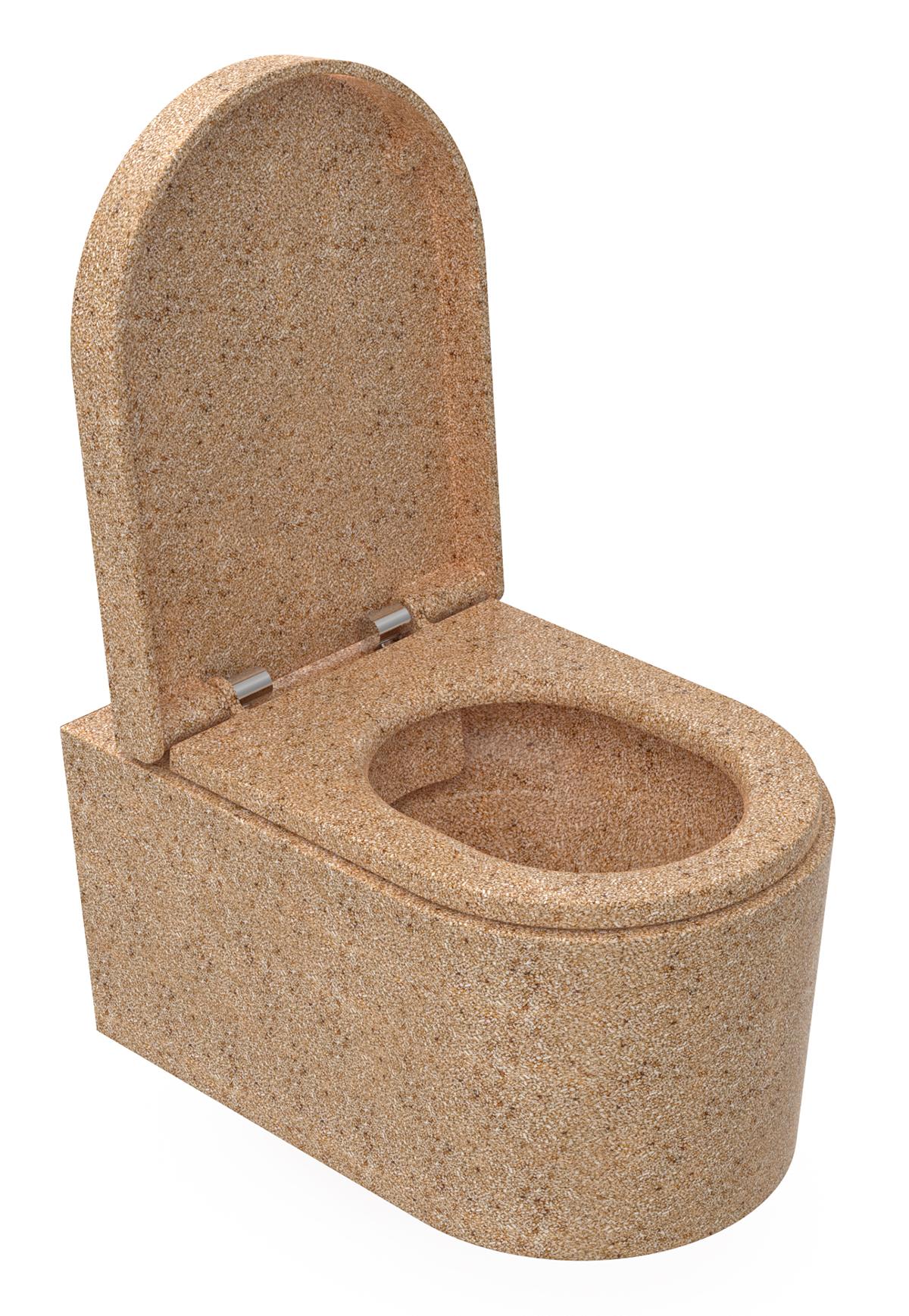Woodion puupohjainen WC-istuin. Kuva: Woodio