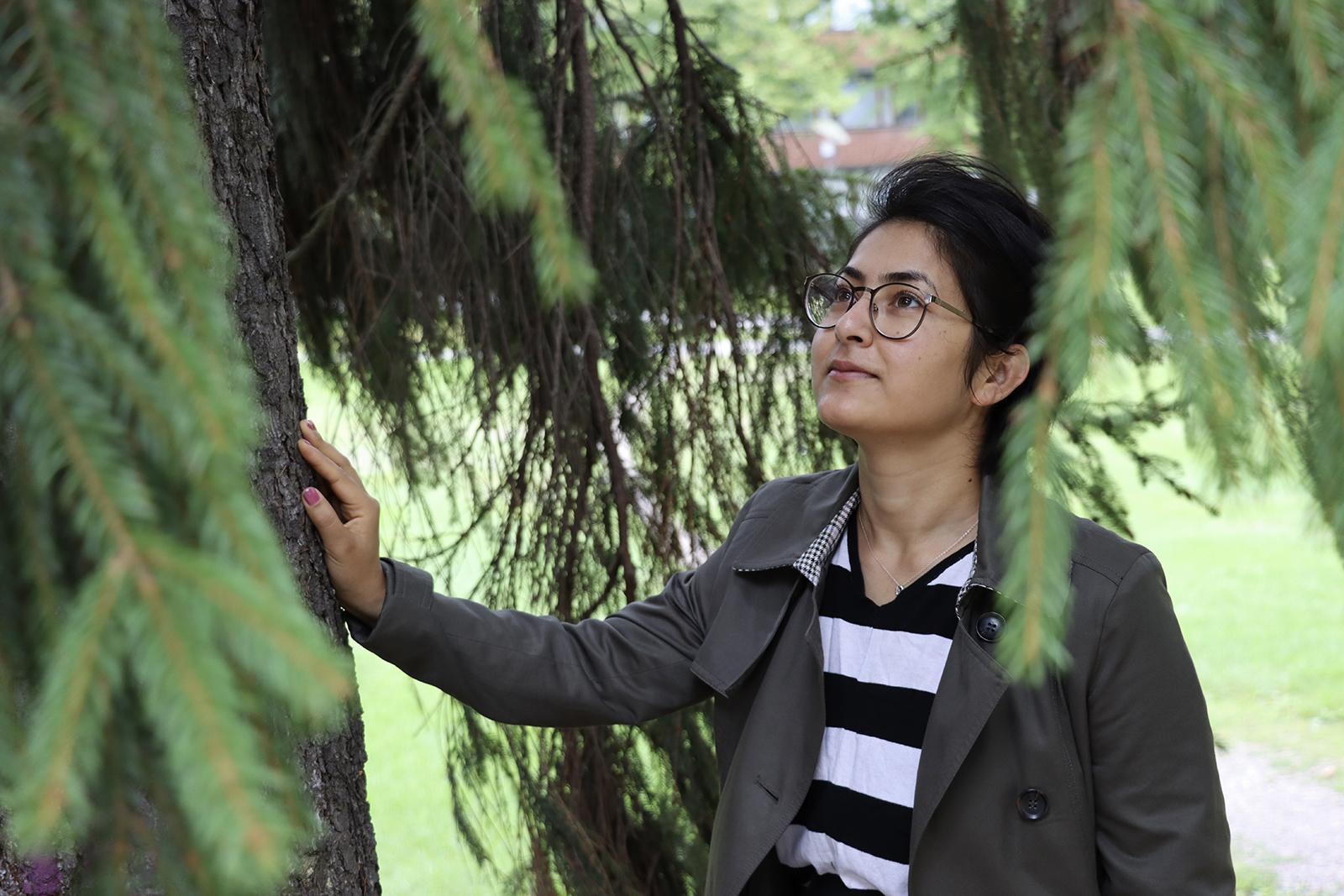 Aalto-yliopiston tutkija Mamat Bhattarai. Kuva: Anna Kauppi